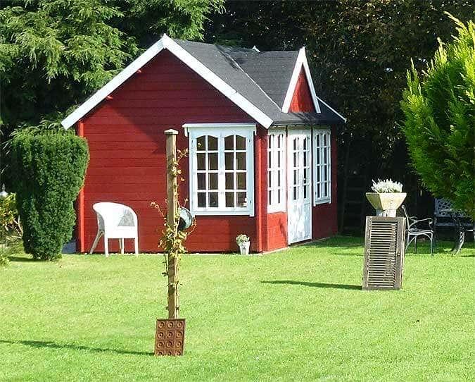 Gut bekannt Schwedenrot: Das Lieblingsrot für das Gartenhaus YC87