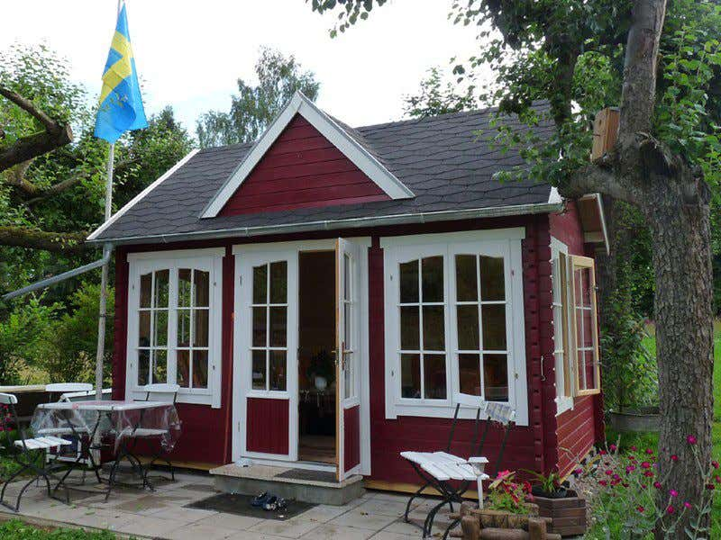 Gartenhaus einrichten ideen f r ihr clockhouse - Skandinavisches gartenhaus ...