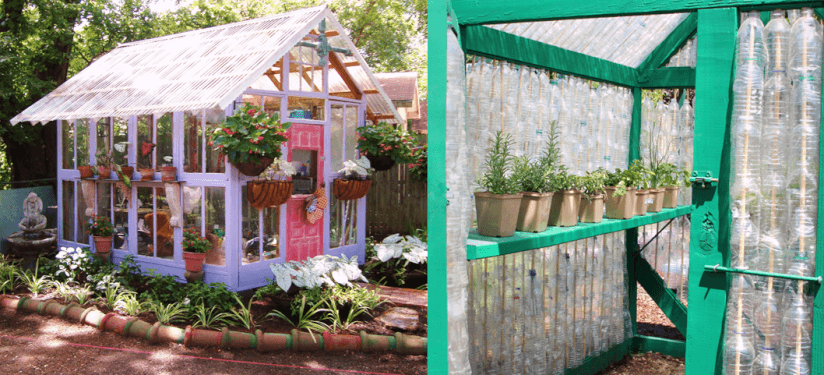 Gewächshaus Selberbauen upcycling garten gewächshaus umweltbewusst selber bauen