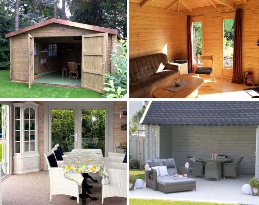 Gartenhaus Fußboden Nageln Oder Schrauben ~ Gartenhaus boden unsere tipps für bodenbeläge