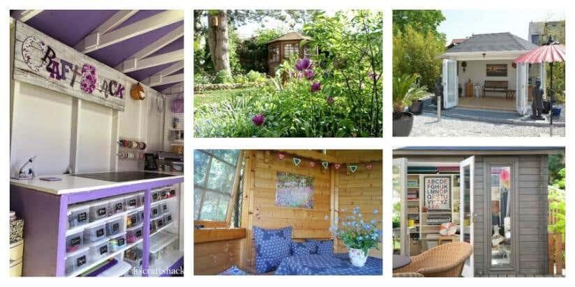Gartenhaus Einrichten 6 Ideen Fur Kleine Gartenhauser
