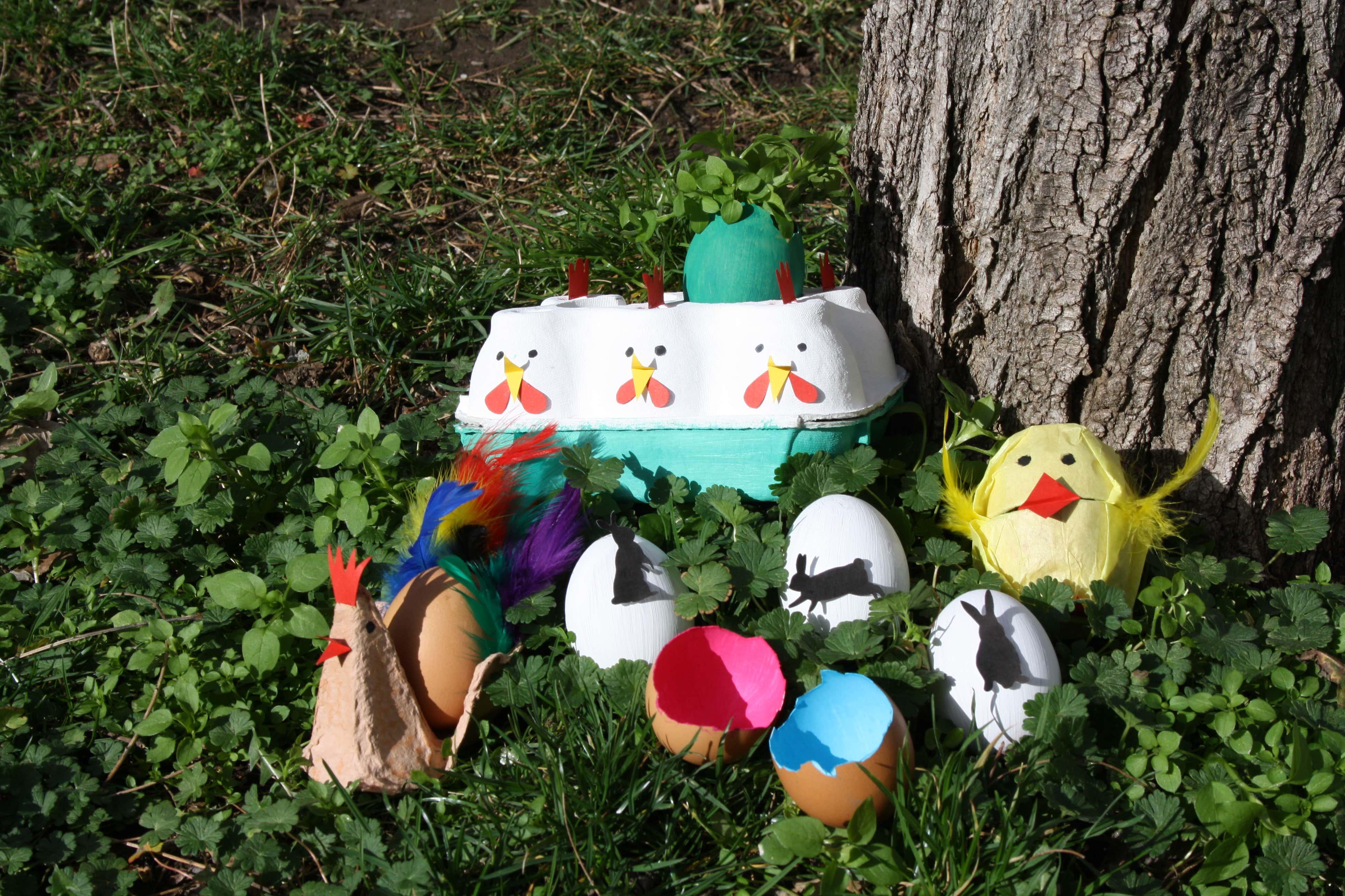 Basteln Für Ostern 6 Ideen Zum Basteln Mit Eiern