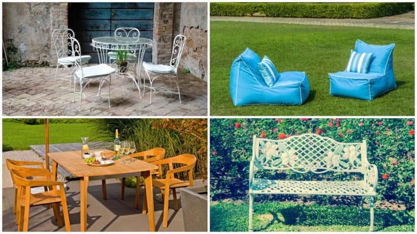 Gartenm bel gartenhaus 6 terrassengestaltungsideen - Plastikstuhle garten ...