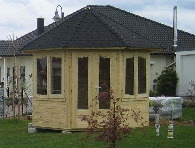 gartenpavillon veronica 2 aufbau und einrichtung. Black Bedroom Furniture Sets. Home Design Ideas
