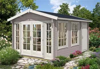2 raum gartenhaus kim 40 ger tehaus und freizeithaus. Black Bedroom Furniture Sets. Home Design Ideas