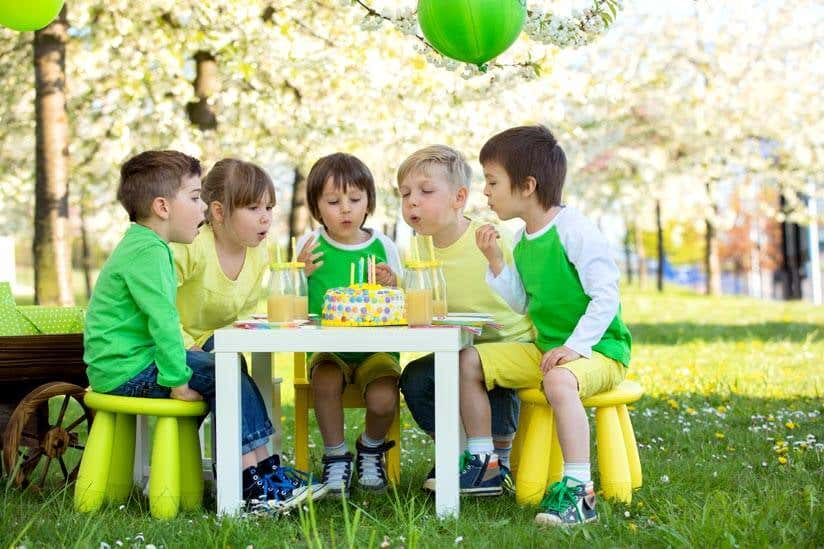 Kindergeburtstag im garten ideen f r deko spiele essen - Gartengestaltung kinder ...
