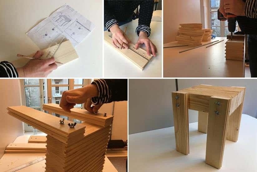 Hocker Selber Bauen : hocker selber bauen eine schritt f r schritt anleitung ~ Lizthompson.info Haus und Dekorationen