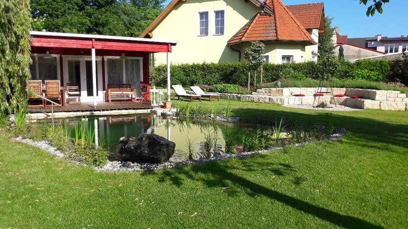 Gartenhaus An Der Grundstucksgrenze Was Beachten