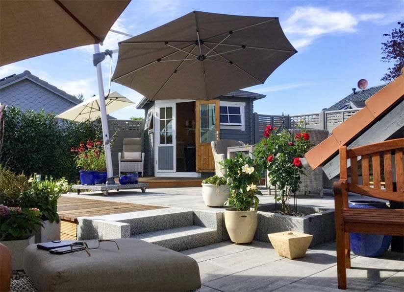 gartenhaus erfahrungen 5 sch ne kundenstorys. Black Bedroom Furniture Sets. Home Design Ideas