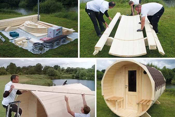 saunafass-aufbauen