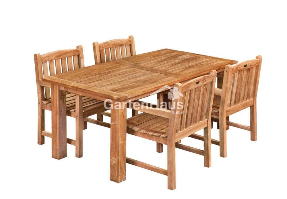 Teak-Gartentisch-solide-Modern