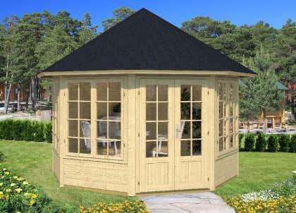 Sehr Holzpavillon kaufen - Holz-Pavillon-Bausätze vom Fachmann ZT84