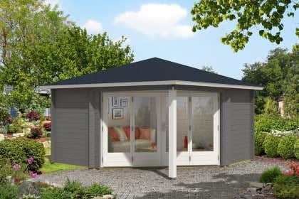 5 Eck Gartenhaus 200 X 200