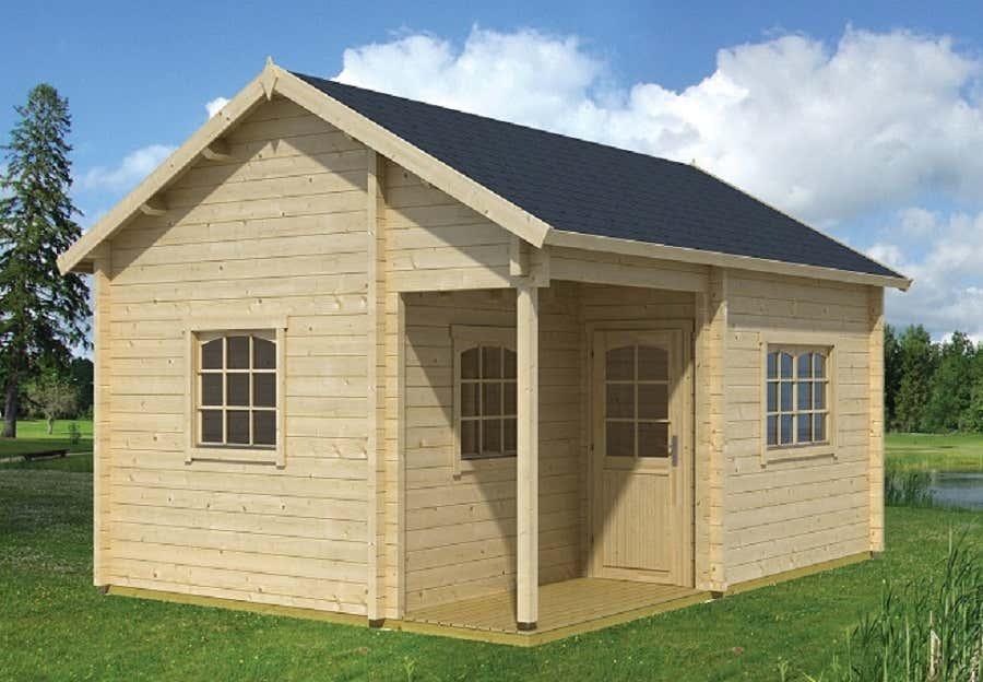 lasita maja gartenhaus tahiti 70 iso 701302 a z gartenhaus gmbh. Black Bedroom Furniture Sets. Home Design Ideas