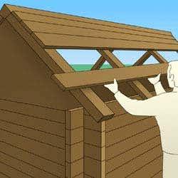 gartenhaus-gartenhausdach-dachaufbau