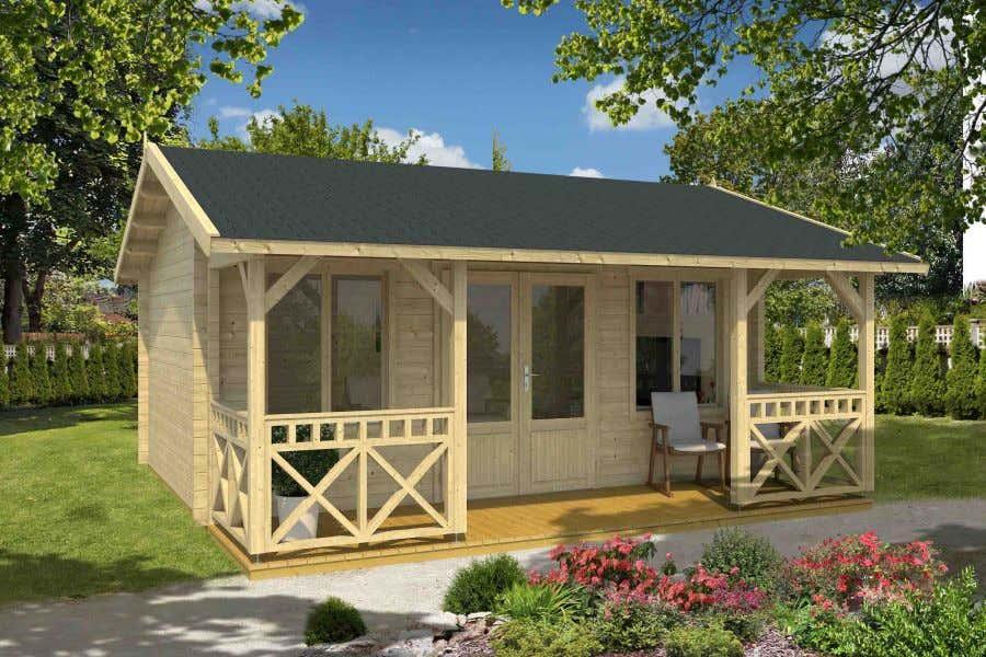 lasita maja gartenhaus staffordshire 1 70 iso a z gartenhaus gmbh. Black Bedroom Furniture Sets. Home Design Ideas